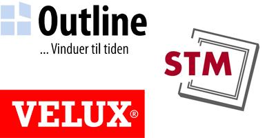 Velux Outline STM Vinduer